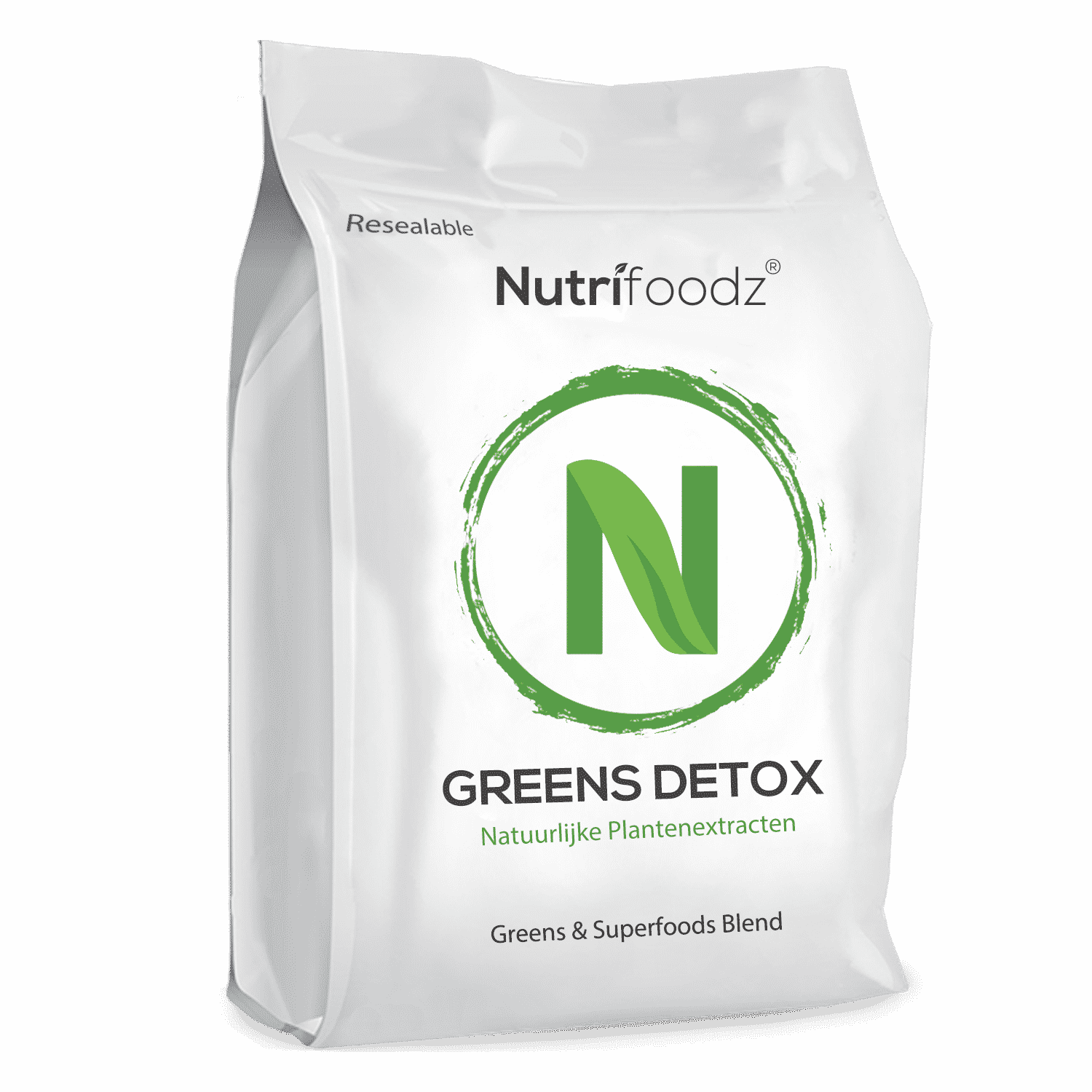 greens pouch mock