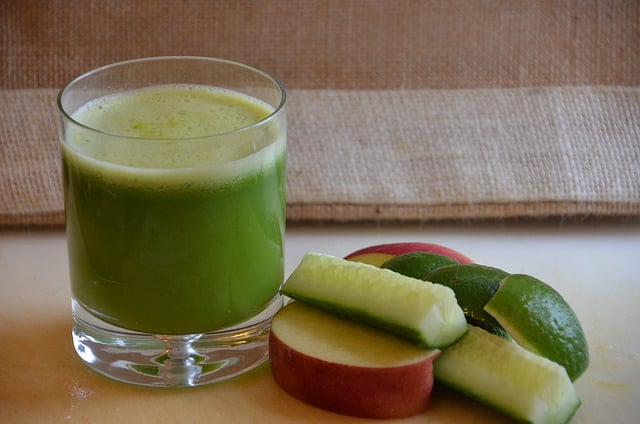 komkommer-juice-recept