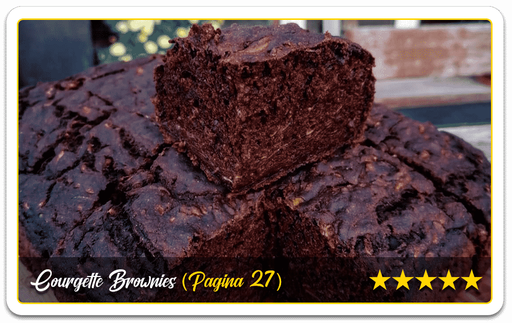 Courgette-Brownies